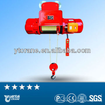 Hot selling high quality single speed electric hoist