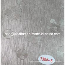 Hot Sale of Delicate Floret Decorative Leather