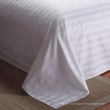 Súper lujo 300tc 100% tela de algodón en colores blancos