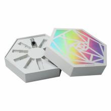 Hexagon Karton ätherisches Öl Geschenkbox Verpackung
