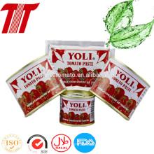 Heißer Verkauf 70g Sachet Tomatenmark von Yoli Marke