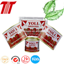 Hot Selling 70g Sachet Tomato Paste of Yoli Brand
