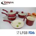 7 pcs brasil venda quente produtos de alumínio panelas de cerâmica cozinha