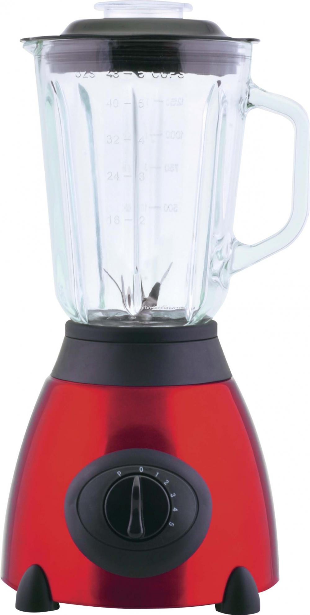 1.5L Stainless Steel Juicer Blender with 4 colors