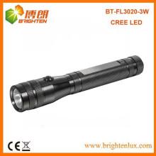 Bulk Sale 180lumen Aluminium Kleine Tasche Größe cree 3w High Power LED Fackel Licht mit 2AA
