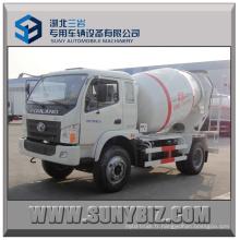 5cbm 6cbm Forland 4X2 Camion mélangeur de béton
