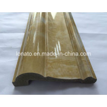 Marble Color PS Ceiling Decoration Moulding Cornice