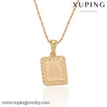 Pendente por atacado da jóia 32266-Xuping com o ouro 18K chapeado
