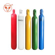 40L/ 50L oxygen cylinder, new high pressure medical oxygen tank with regulator and mask