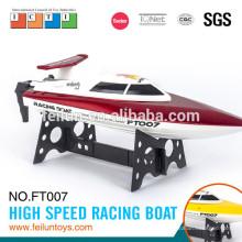 Sommer-Wasser-Spaß! 2.4 G 4CH Akku betreiben high-Speed ferngesteuerte Modellboote für Verkauf-CE/FCC/ASTM-Zertifikat