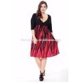 2017 neue design damen kleid Chic Sommermode Plus Größe Frauen Kleidung Böhmisches Kleid