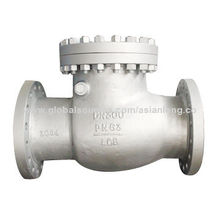 Swing check valve, cast steel, DIN/EN Standard, CE and ISO certified