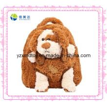 Brown Dog mochila de pelúcia baratos (XDT-0034Q)