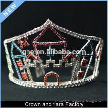 Soirée de fête d'anniversaire King Crown pour adultes