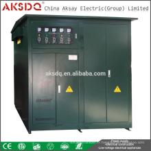 SBW SBW-F Transformateur intérieur à 3 phases Stabilisateur de haute wattage automatique complet pour l'industrie ou le stabilisateur de tension d'usine 380v