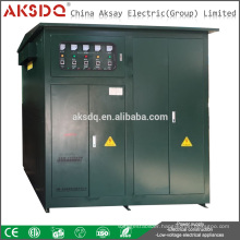 SBW SBW-F 3 Phase Inner Transformer Full Automatic High Watt Stabilizer Use for Industry or Factory Voltage Stabilizer 380v
