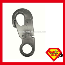 Big Eye Forged Steel Double Latch Large Safety Snap Hook