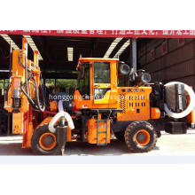 Highway Guardrail Hydraulic Pile Driver