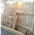 escalera de madera poste de newel