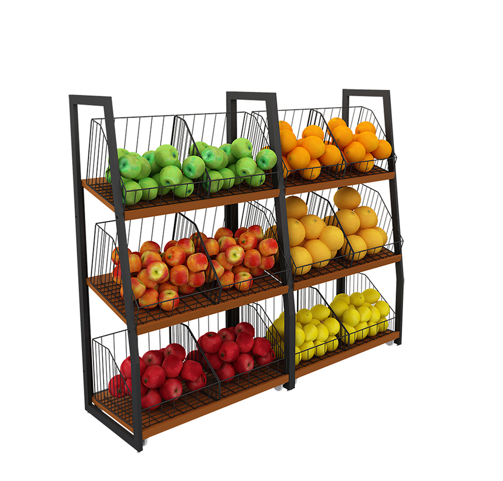 Wholesale Fruit Shelving Units