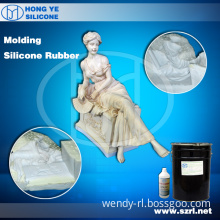Rubber-Component Silicone for Gypsum Mould Making