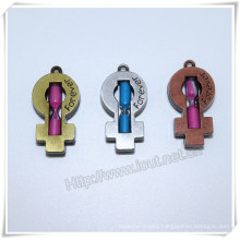 Color Hourglass Cross, Alloy Hourglass Cross, Fashion Cross (IO-ap241)