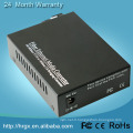 1 port fibre 2 RJ45 v.24 vers ethernet convertisseur