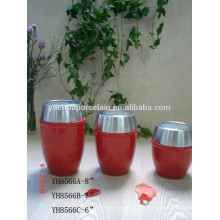 Hot-Style Cheap Ceramic Porcelain Candy Cream Storage Jar