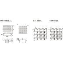 1,5 Zoll, 3,7 mm DOT (GNM-15882Ax-Bx)