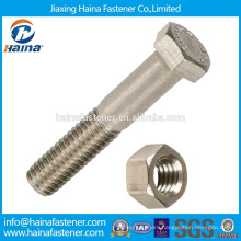 M10*1.25 Chinese Fastener DIN931 Stainless Steel Metric Hex Bolt in Stock