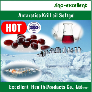 Antarctic Krill Oil Softgel/Soft Capsule