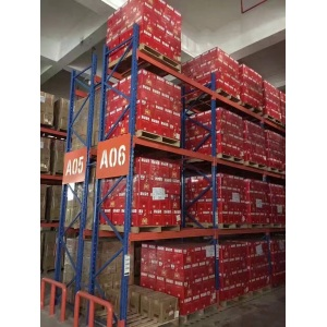 Heavy Duty Metal Shelving in Warehouse Storage