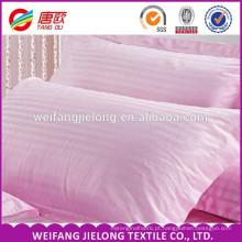 100% algodão 60 s * 40 s 173 * 120 280 cm largura branqueada listra de cetim branco tecido de cama de algodão de algodão cama listra de cetim