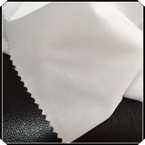 Inexpensive CVC Light White Woven Fabric