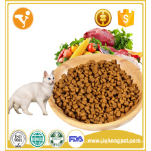 Wholesale natural organic beef flavor pure dry cat pet food