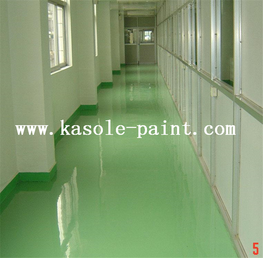 Grass Green Epoxy Finish Antistatic Material