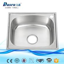 Tanque de agua portátil de acrílico pequeño del fregadero de cocina del acero inoxidable del OEM para el campista