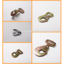 hot sale twisted 2'' zinc alloy snap hook