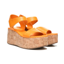 2021 particularly comfortable increased women's wooden heel casual sandals