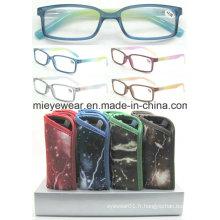 Lunettes de lecture à la mode à lunettes à vendre (MRP21583A)