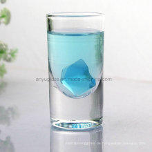 Transparente bleifreie Glasschalen-Becher für Likör, Wein, Bier, Wasser