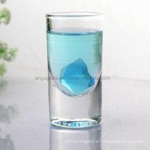 Copo de vidro sem chumbo transparente caneca para licor, vinho, cerveja, água