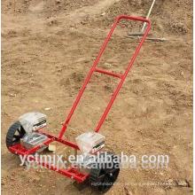 baixa manutenção duas linha tipo manual de plantador de legumes / semeadora de cebola