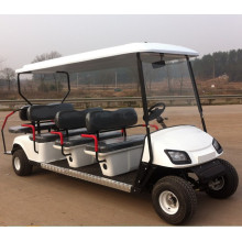 8 sitzer retro gas powered golf carts