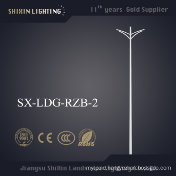 3-12m Double Arm Conical Steel Street Lighting Pole