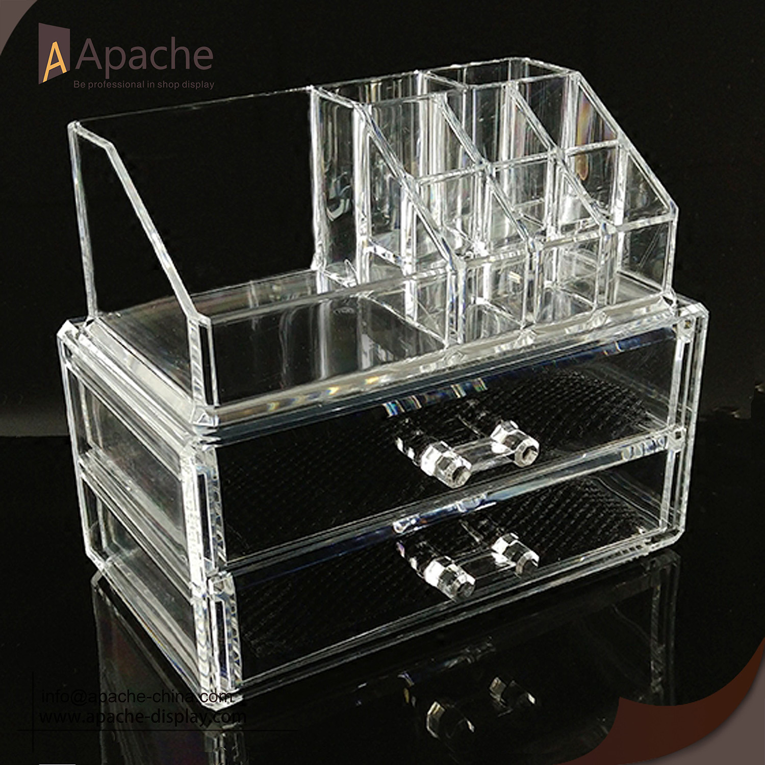 High Quality Acrylic Makeup Drawers Cosmetic Organizer