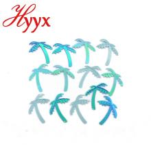 HYYX Holiday Gift Handicraft blue fluorescent tissue paper glitter confetti