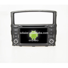 Quad core!car dvd with mirror link/DVR/TPMS/OBD2 for 7inch touch screen quad core 4.4 Android system Mitsubishi Pajero