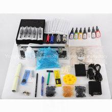 Produtos baratos Kits de tatuagem com máquina e tinta