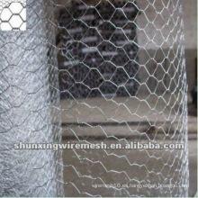 Alambre hexagonal de malla de alambre